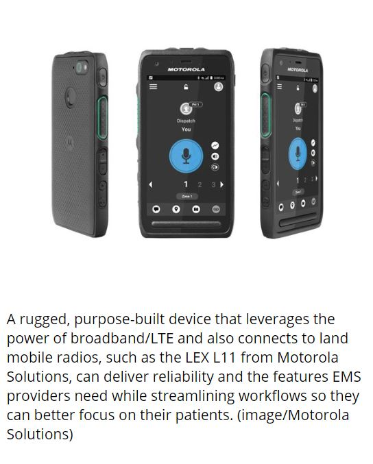 Purpose Built Device for Fire and EMS